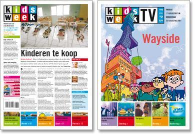 Nu bij een abonnement op KidsWeek…